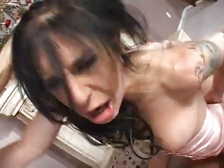 breasty and hot mama receives coarse drilled