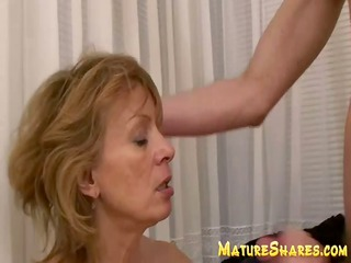 aged unshaved blows large young wang