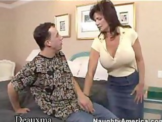 deauxma acquires her wazoo fucked by a young stud