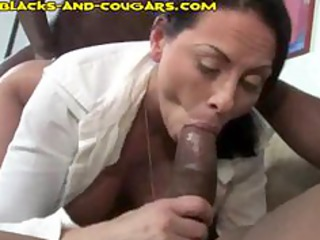 Three Black Share A Cougar