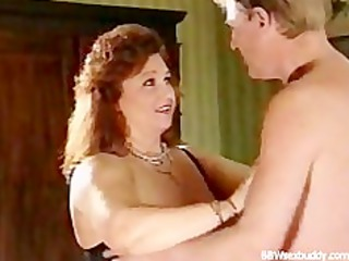 breasty big beautiful woman acquires drilled in
