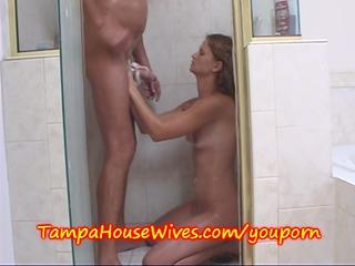 neighbors wife gets screwed in shower