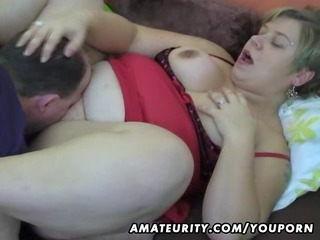 overweight amateur wife homemade engulf and fuck