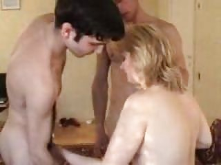 filming his swinger wife with two youthful guys