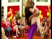 cfnm aged gets cumshot from stripper