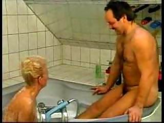 wicked german grandma fucked in bathtub amateur
