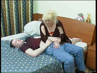 big beautiful woman aged fucks boy