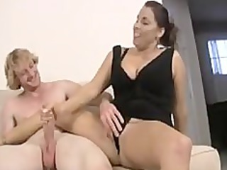 mamma and not her daughter share cock