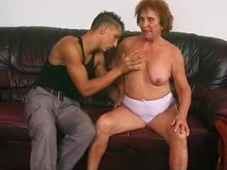 german granny izadora with boy