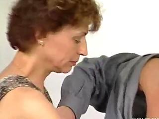 unyielding schlong for mature german lady