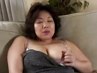 busty milf getting her milk shakes rubbed giving