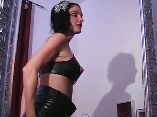breasty latex mother i toying