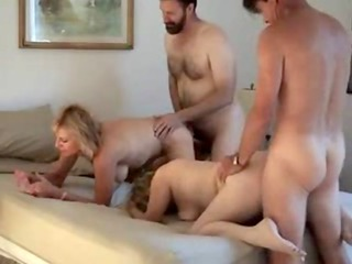hot amateur swinger wifes receives the cock f