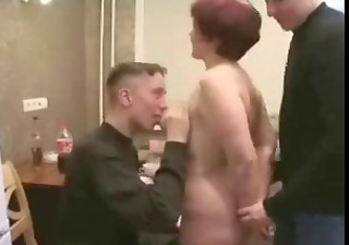 mother drilled by her guy