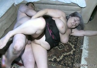 breasty old woman acquires concupiscent part3
