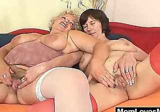bushy amateur wives first time lesbo