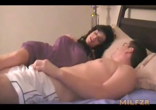 mommy gives cook jerking to son milfzr.com