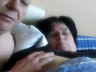 lewd fat non-professional wife gets her swollen