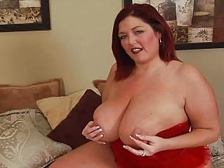 randy redhead fat momma with big bosom