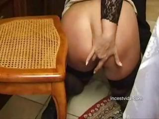 Busty blonde italian mom does sixty-nine and