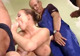 german breasty mature dp