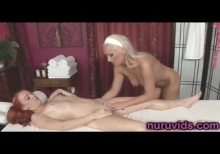 cute mother i diana doll in lesbo massage
