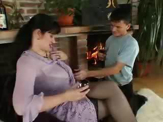 busty d like to fuck seduces youthful dude