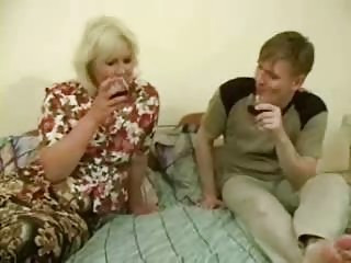 big drunk mom gets drilled by legal age teenager