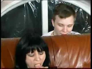russian mamma and son