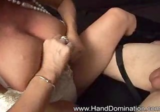breasty d like to fuck scolds her bf then milks