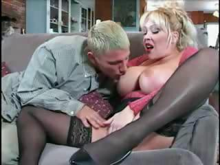 breasty milf receives the stupid chap
